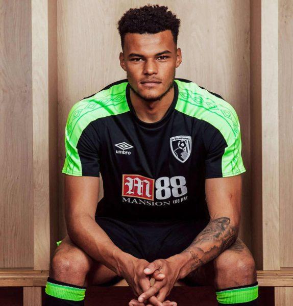 Tercera camiseta Umbro del AFC Bournemouth | Foto Web Oficial