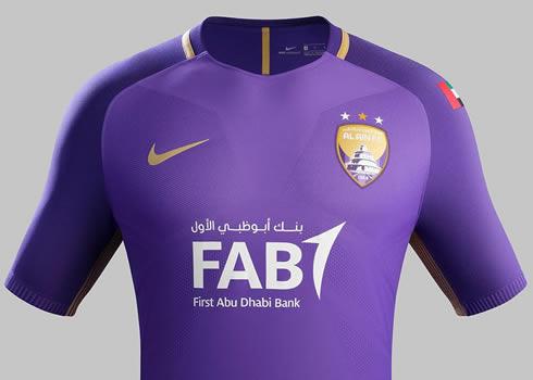 Camiseta titular del Al Ain FC   Foto Web Oficial
