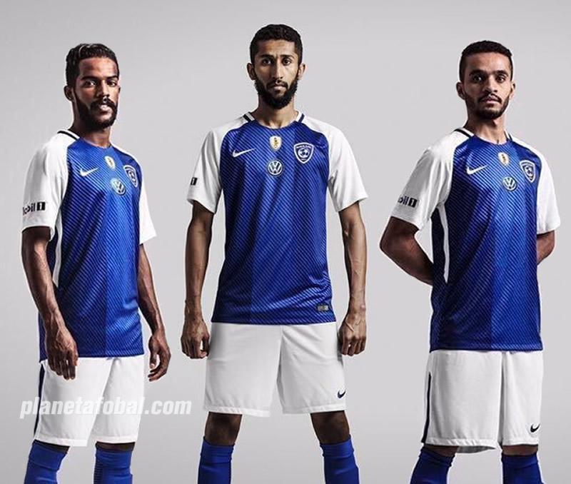 Nuevo kit titular del Al-Hilal | Imágenes Web Oficial