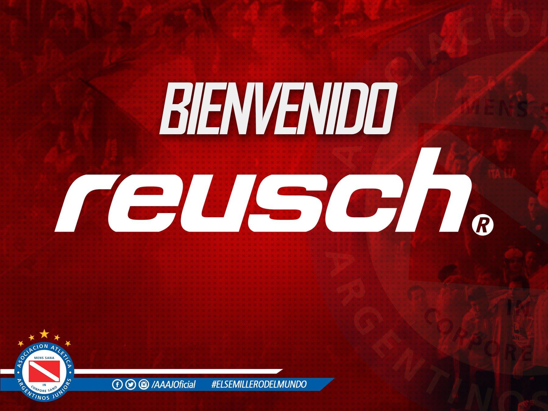 Argentinos será vestido por Reusch | Foto Twitter Oficial