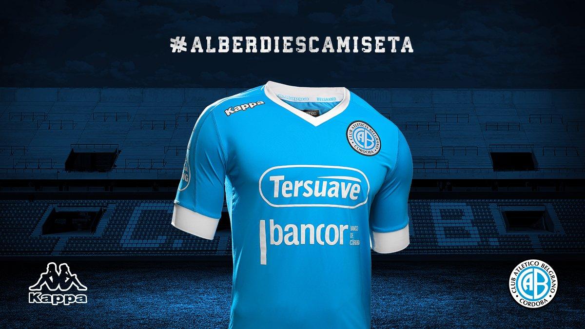 Camiseta titular Kappa de Belgrano | Foto Twitter Oficial