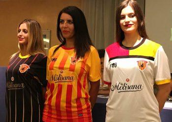 Nuevas camisetas del Benevento Calcio | Foto Facebook Oficial