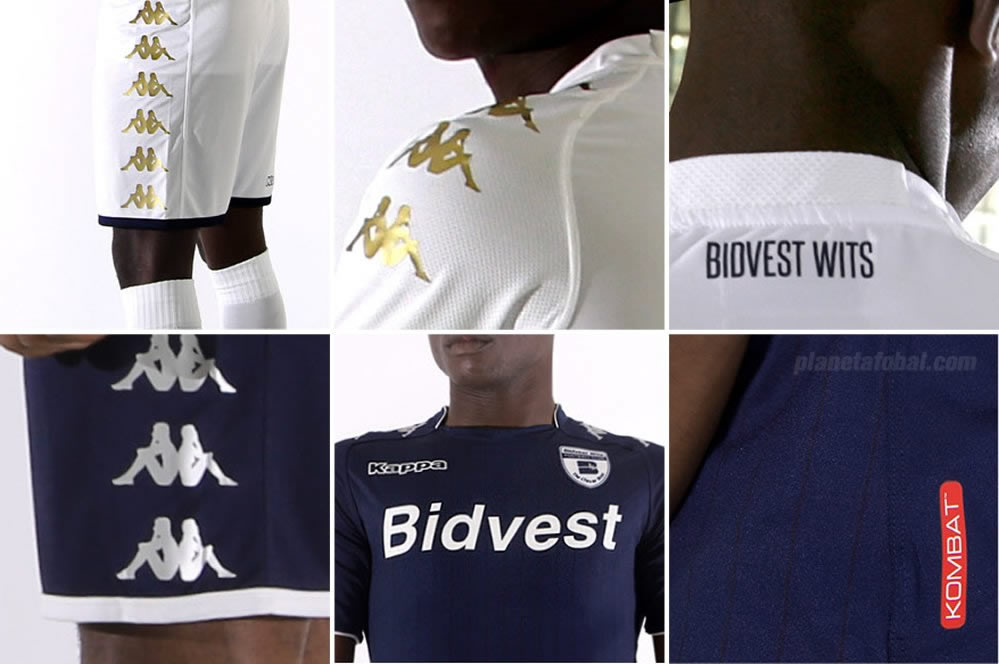 Nuevas camisetas Kappa del Bidvest Wits | Foto Web Oficial