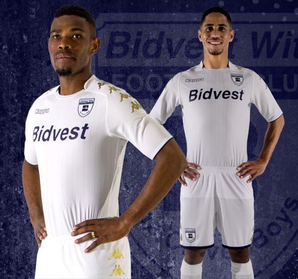 Nueva camiseta titular Kappa del Bidvest Wits | Foto Web Oficial