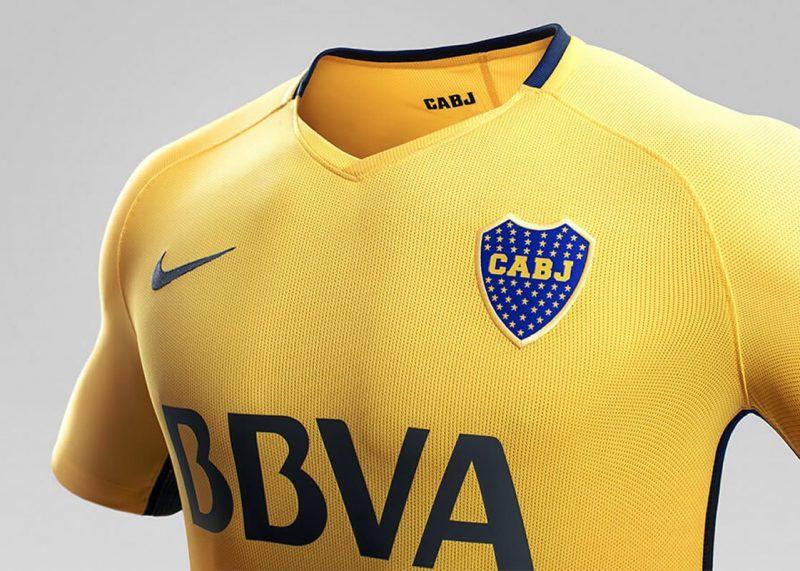 Camiseta suplente Nike de Boca 2017-18   Imagen Web Oficial