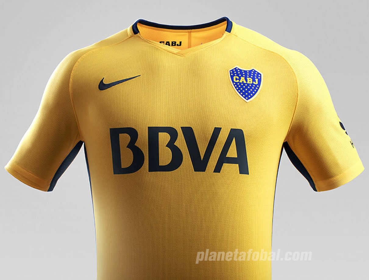 Camiseta suplente Nike de Boca 2017-18 | Imagen Web Oficial