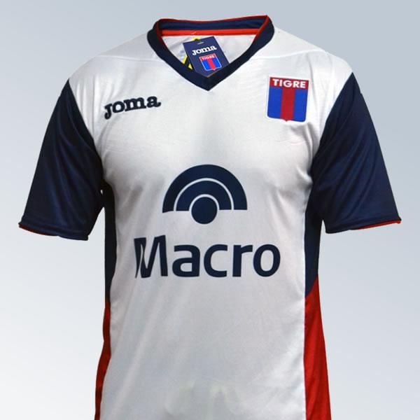 Camiseta suplente de Tigre | Imagen Joma