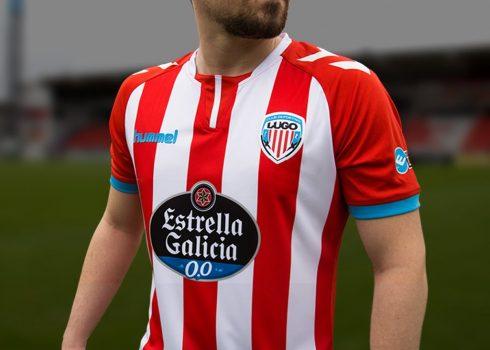 Camiseta titular Hummel del CD Lugo | Foto Web Oficial