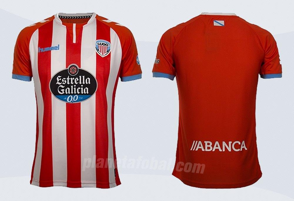 Camiseta titular Hummel del CD Lugo | Imágenes Web Oficial