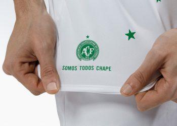Camiseta especial del Chapecoense | Foto Umbro
