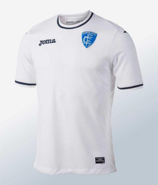 Camiseta suplente del Empoli Calcio | Foto Joma Sport