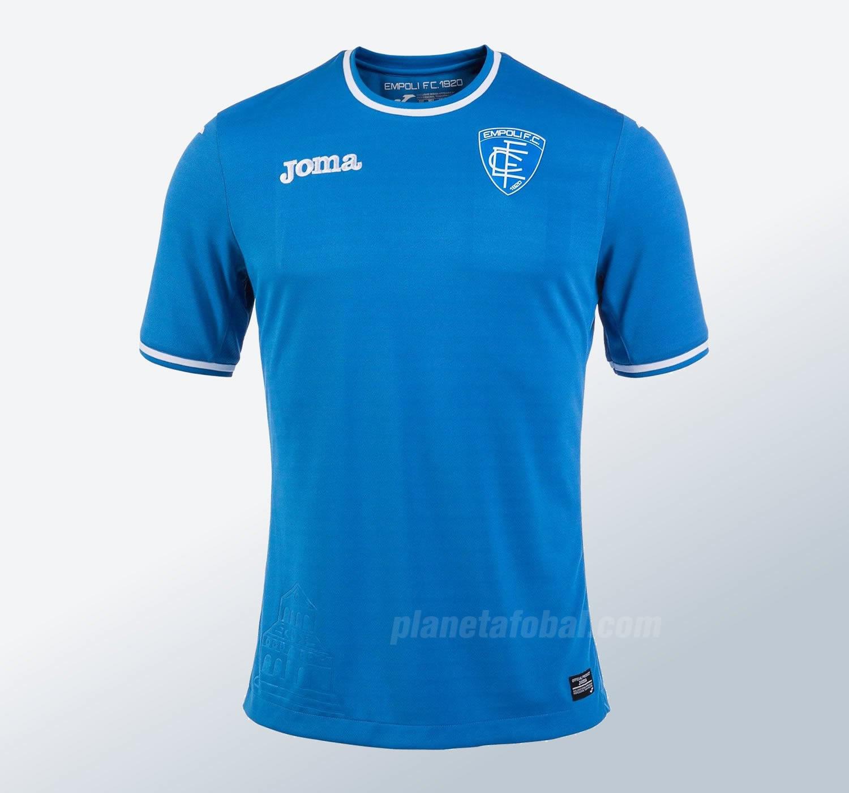Camiseta titular del Empoli Calcio | Foto Joma Sport