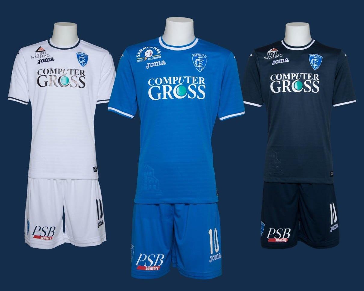 Camisetas Joma del Empoli Calcio | Foto Web Oficial