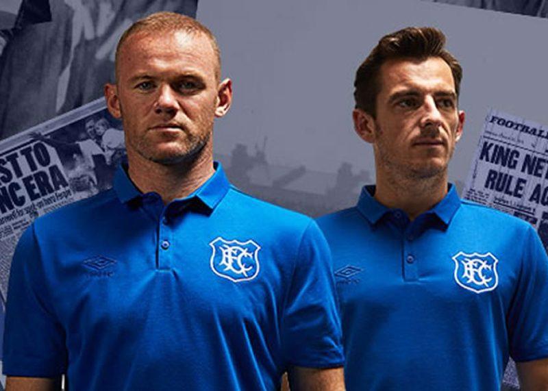 Camiseta del Everton por los 125 años de Goodison Park | Foto Web Oficial