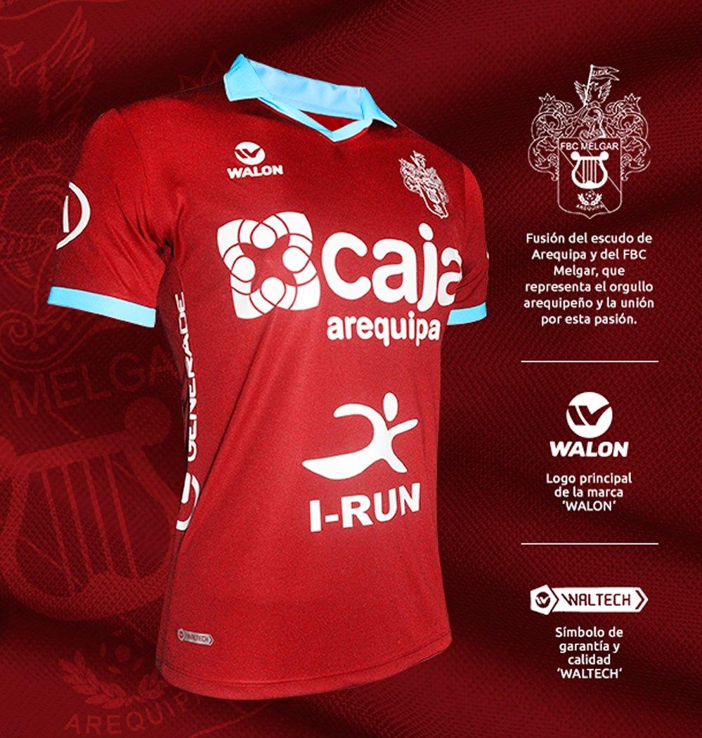 Camiseta del FBC Melgar tributo a Arequipa | Foto Web Oficial