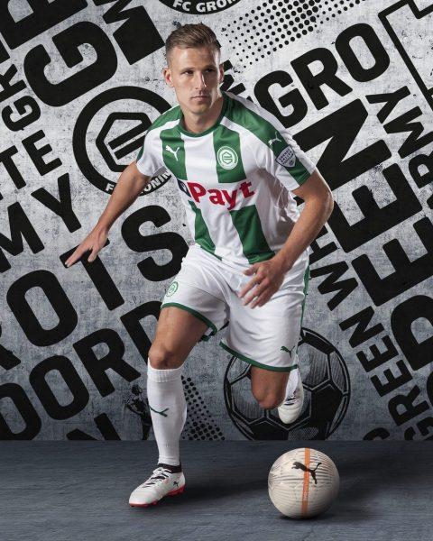 Camiseta titular del FC Groningen | Foto Puma