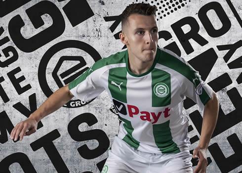 Camiseta titular del FC Groningen   Foto Puma
