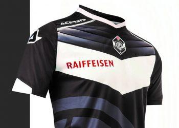 Nueva camiseta titular Acerbis del FC Lugano | Imagen Web Oficial