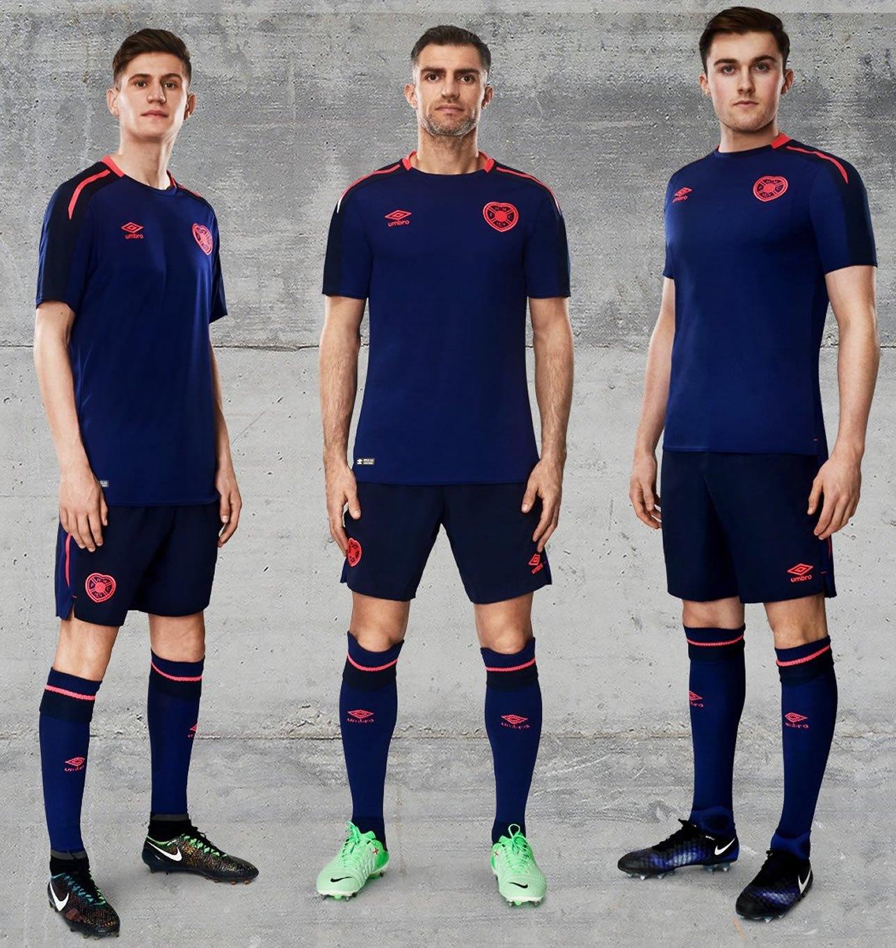 Tercera camiseta del Heart of Midlothian | Foto Web Oficial