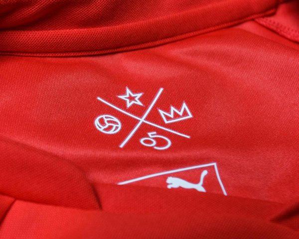 Nueva camiseta titular de Independiente | Foto Twitter Oficial