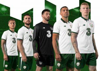 Camiseta suplente de Irlanda | Foto New Balance