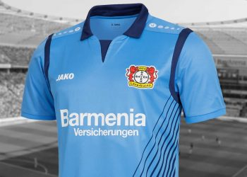 Nueva camiseta alternativa del Bayer 04 | Foto Web Oficial