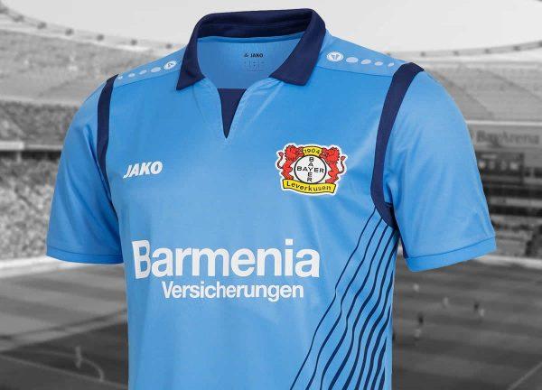 Nueva camiseta alternativa del Bayer 04 | Foto Web Oficial