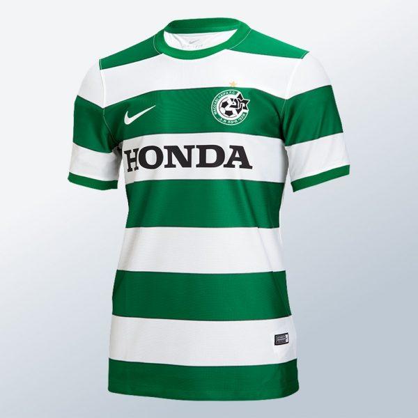 Camiseta titular Nike del Maccabi Haifa | Foto Web Oficial