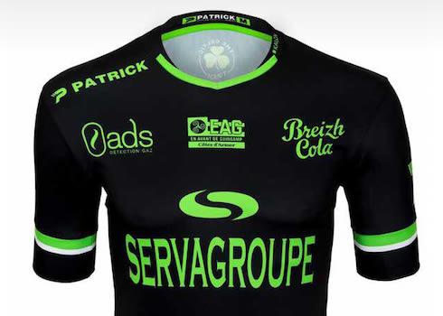 Tercera camiseta del EA Guingamp | Foto Web Oficial