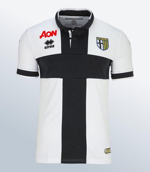 Camiseta titular Erreà del Parma Calcio | Foto Web Oficial
