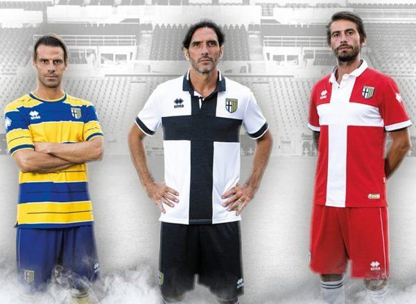 Camisetas Erreà del Parma Calcio | Foto Web Oficial