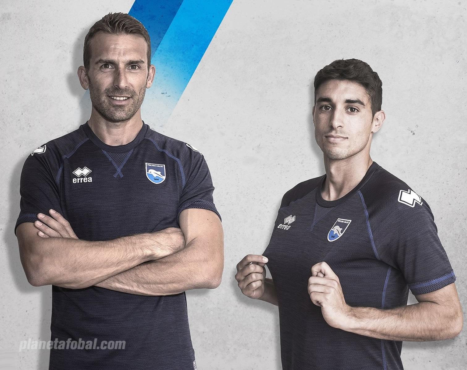 Tercera camiseta Erreà del Pescara | Foto Web Oficial