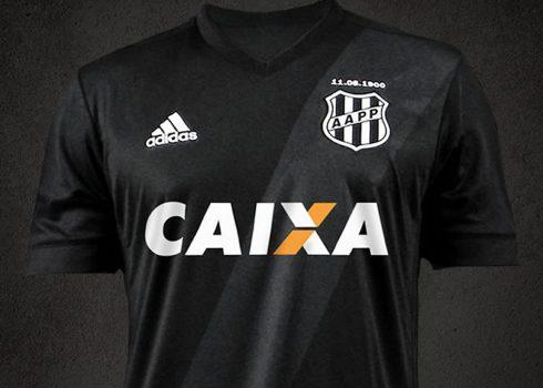 Camiseta suplente del Ponte Preta | Foto Adidas