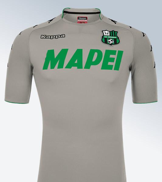 Camiseta de arquero gris del Sassuolo Calcio | Foto Kappa
