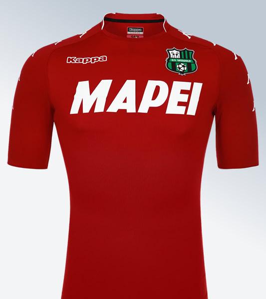Camiseta de arquero roja del Sassuolo Calcio | Foto Kappa