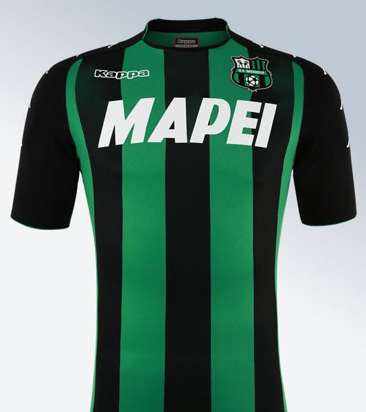 Camiseta titular del Sassuolo Calcio | Foto Kappa