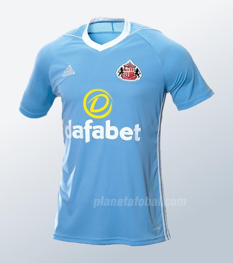 Camiseta suplente del Sunderland | Imagen Web Oficial