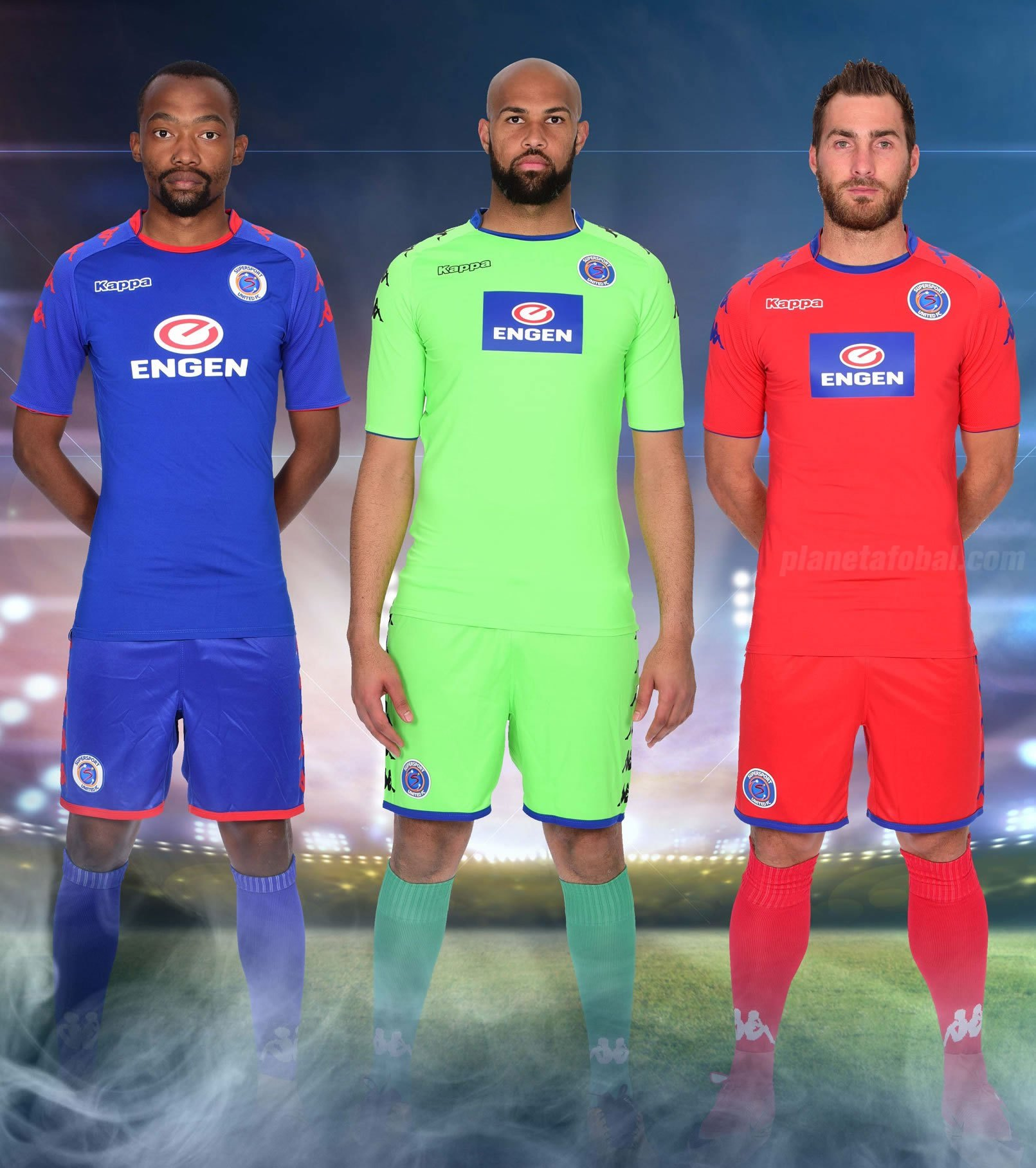 Nuevas camisetas Kappa del SuperSport United FC | Foto Web Oficial