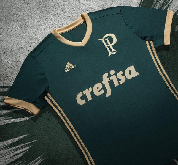Tercera camiseta Adidas del Palmeiras 2017 18 ee348f1a452e4