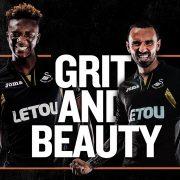 Tercera camiseta del Swansea City   Foto Web Oficial