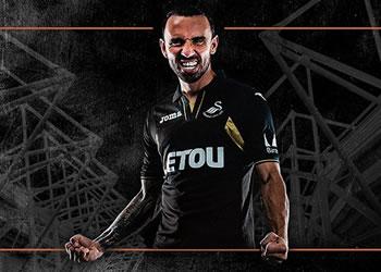 Tercera camiseta del Swansea City | Foto Web Oficial