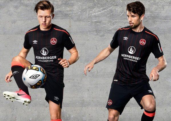 Tercera camiseta del FC Nürnberg | Imagen Web Oficial