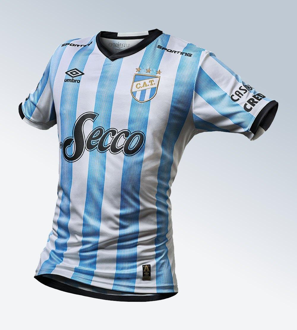 Nueva camiseta titular de Atlético Tucumán | Imagen Umbro