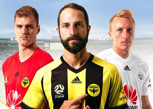 Camisetas del Wellington Phoenix | Foto Web Oficial