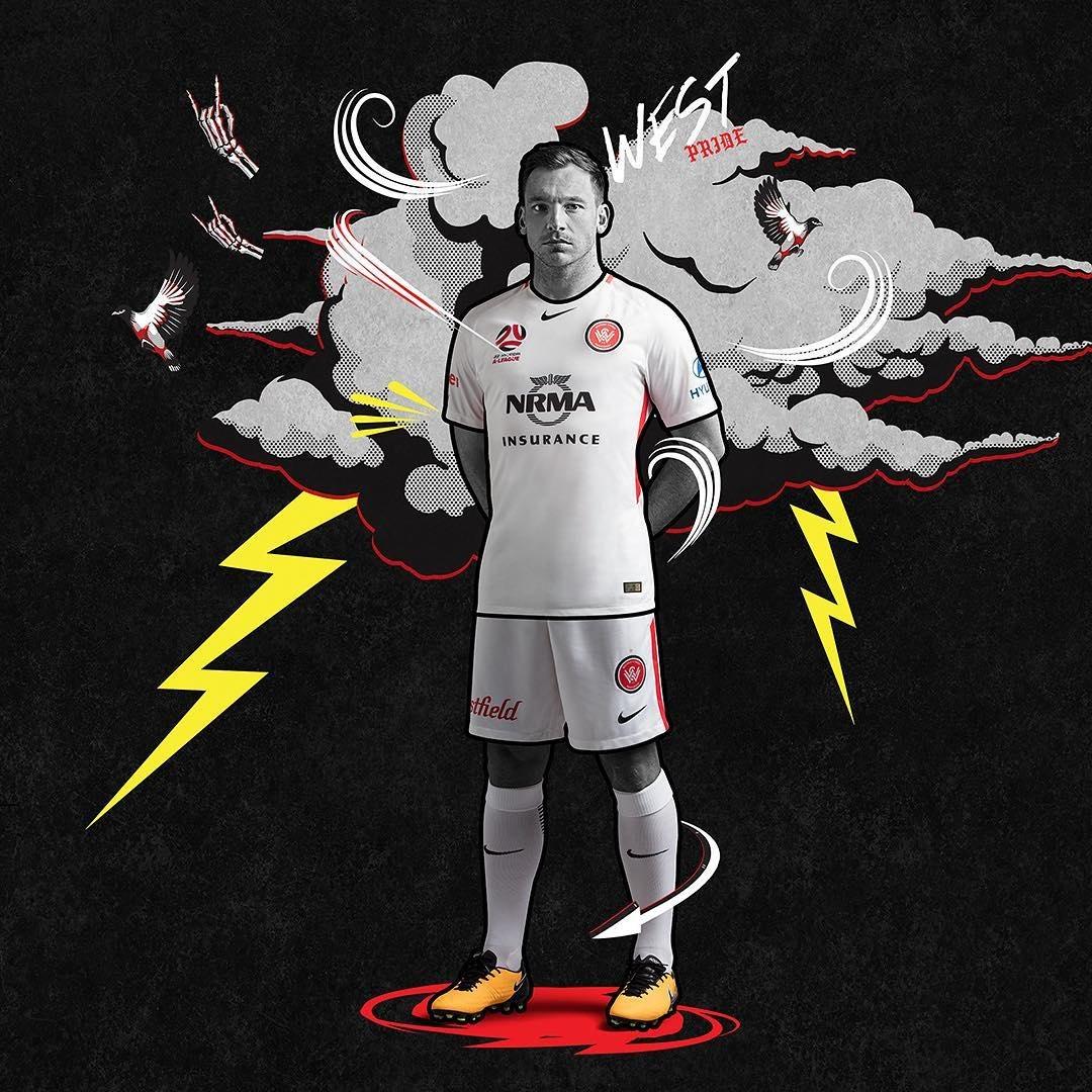 Camiseta suplente del Western Sydney Wanderers FC | Foto Web Oficial