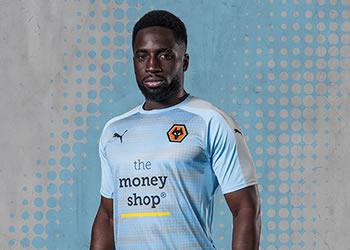 Tercera camiseta de los Wolves | Foto Web Oficial