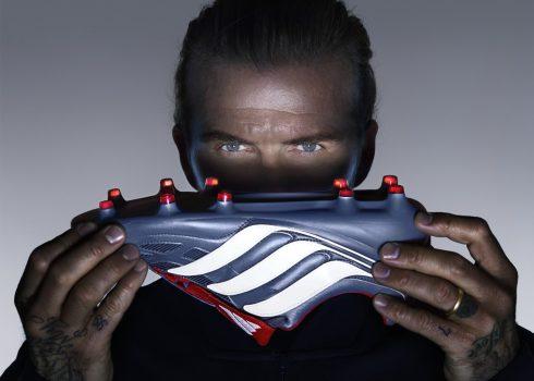 David Beckham con los nuevos Predator Precision | Foto Adidas