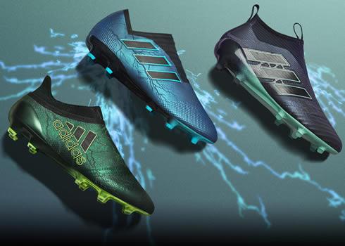 """Thunder Storm Pack"" de los botines Adidas | Foto Unisport"