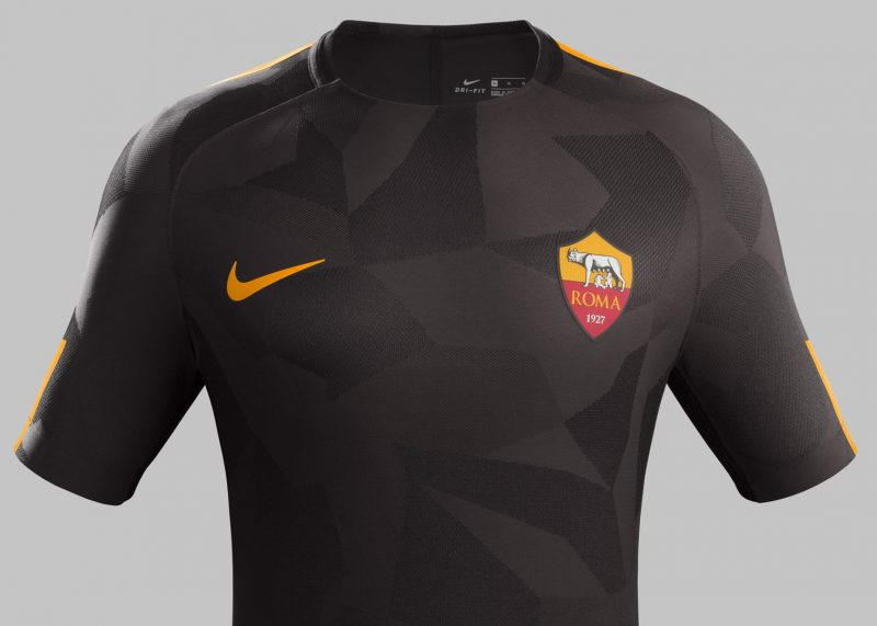 Tercera camiseta de la Roma | Foto Nike
