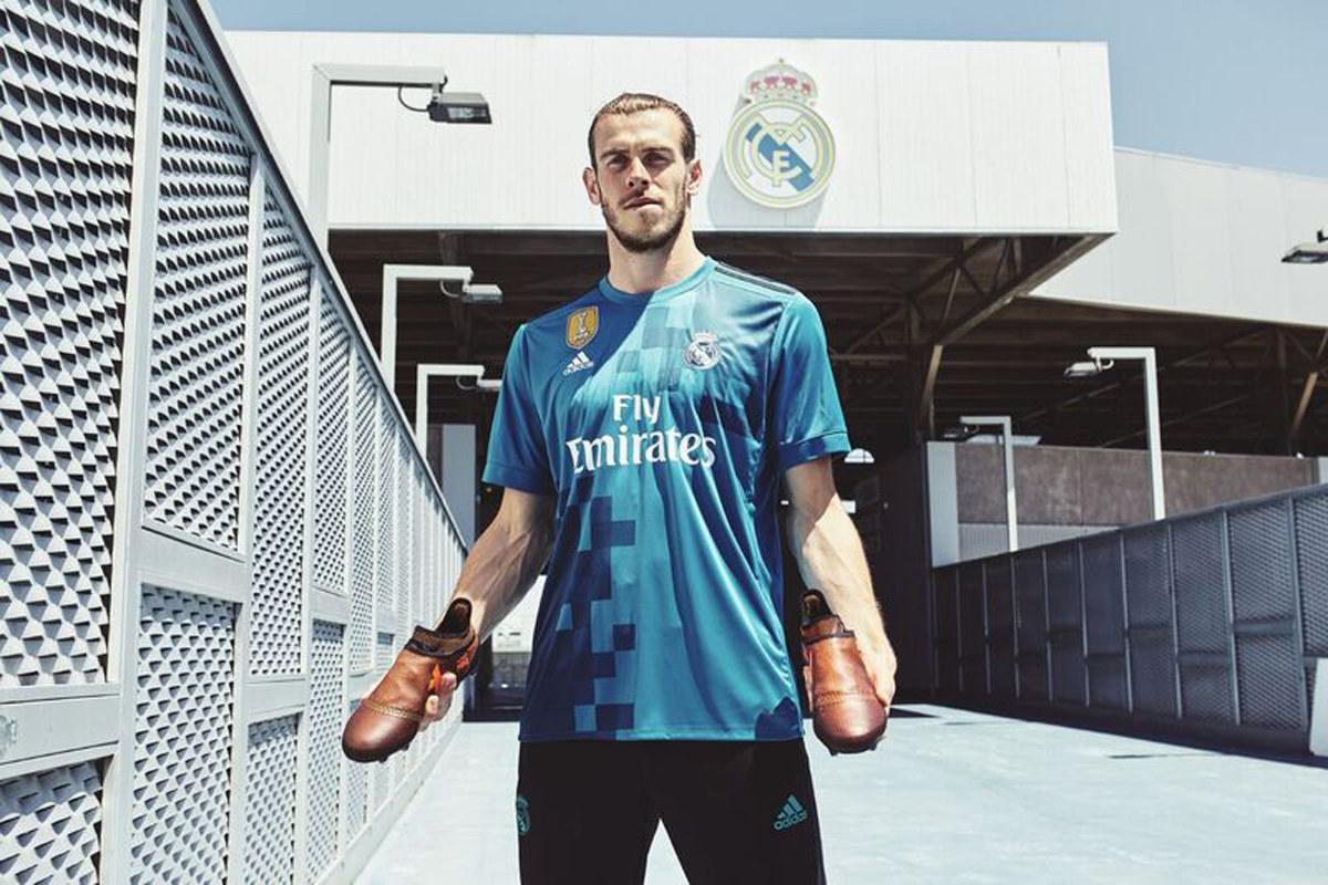 Gareth Bale con los X17 Pyro Storm | Foto Adidas